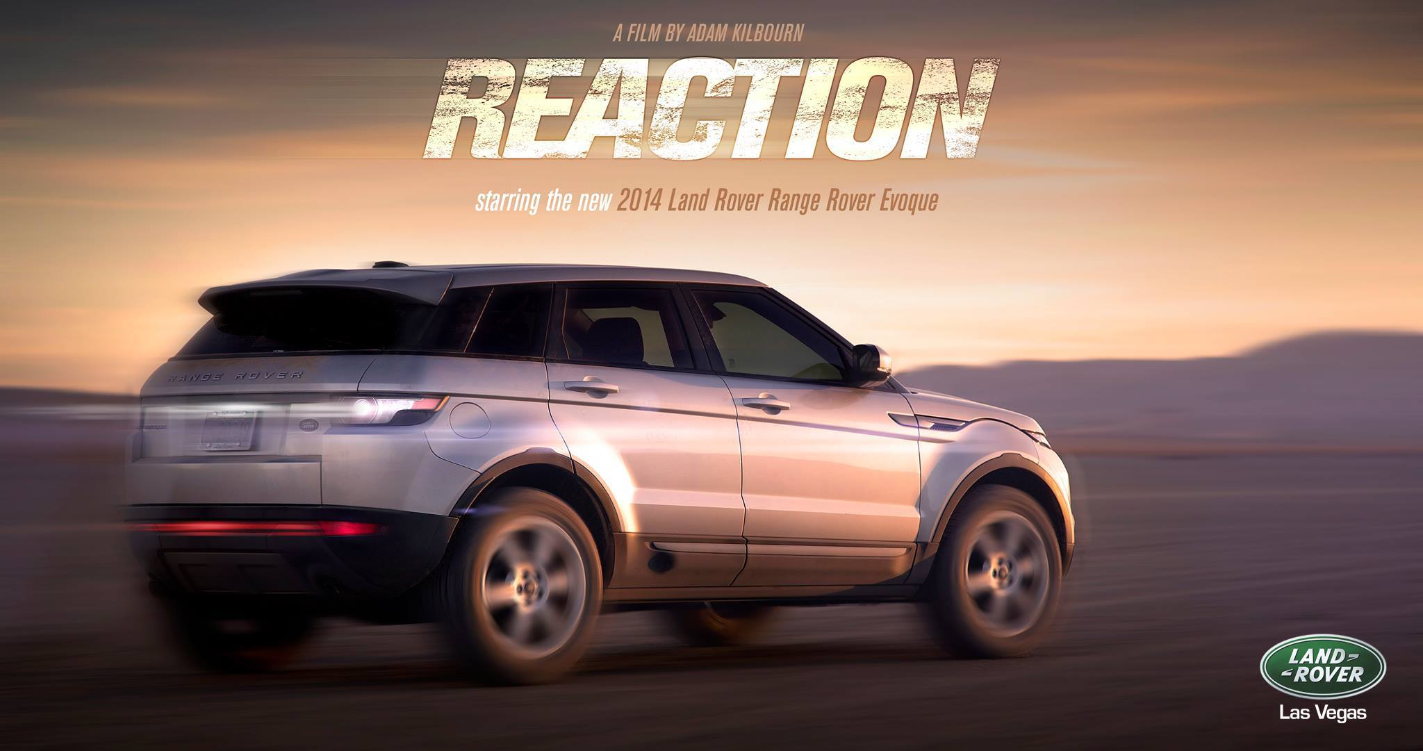 ReAction - Land Rover Poster