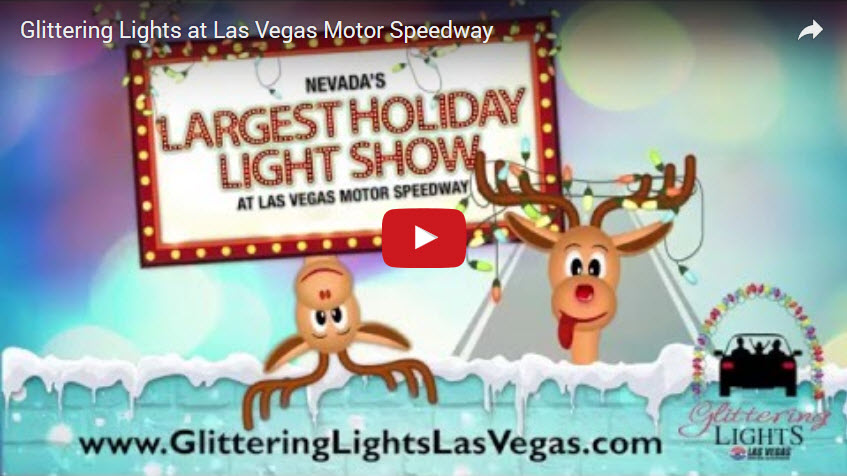 Glittering lights at las vegas motor speedway black for Glittering lights las vegas motor speedway
